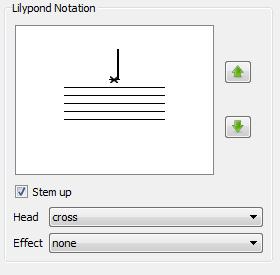 Kit Editor Lilypond Notation