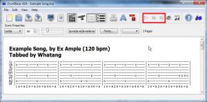 MIDI playback controls